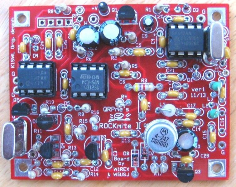 Picture of Rockmite][ 15m Transceiver Kit